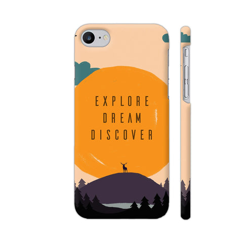 Explore Dream Discover iPhone 7 Cover | Artist: Disha