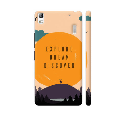 Explore Dream Discover Lenovo A7000 Cover | Artist: Disha