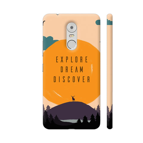 Explore Dream Discover Lenovo K6 Note Cover | Artist: Disha