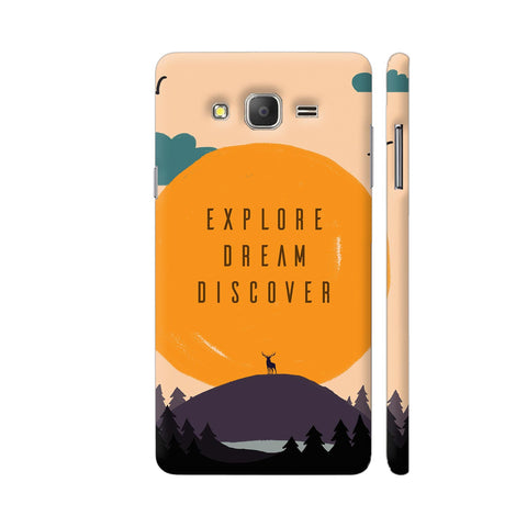 Explore Dream Discover Samsung Galaxy On5 Pro Cover | Artist: Disha