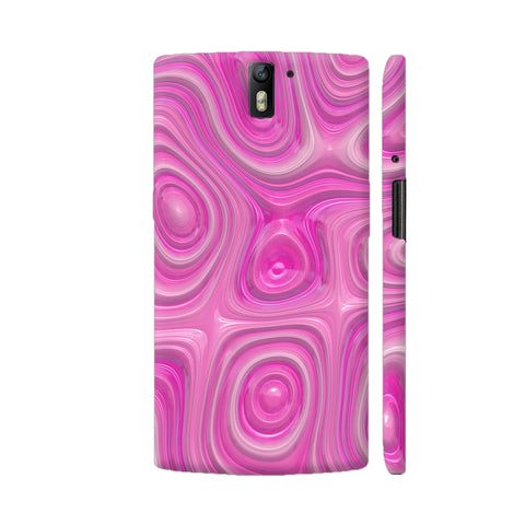 Fancy Organic Pink Surface OnePlus One Case