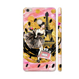 Fashion Girl In Paris With Eiffel Tower 4 Xiaomi Mi Max Cover | Artist: UtART