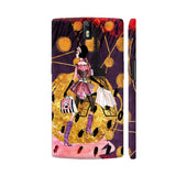 Fashion Girl In Paris With Eiffel Tower 5 OnePlus One Cover | Artist: UtART