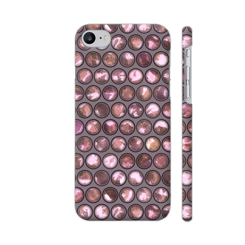 Fashionable Pearls In Pretty Pink Apple iPhone 7 Case