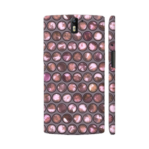 Fashionable Pearls In Pretty Pink OnePlus One Case