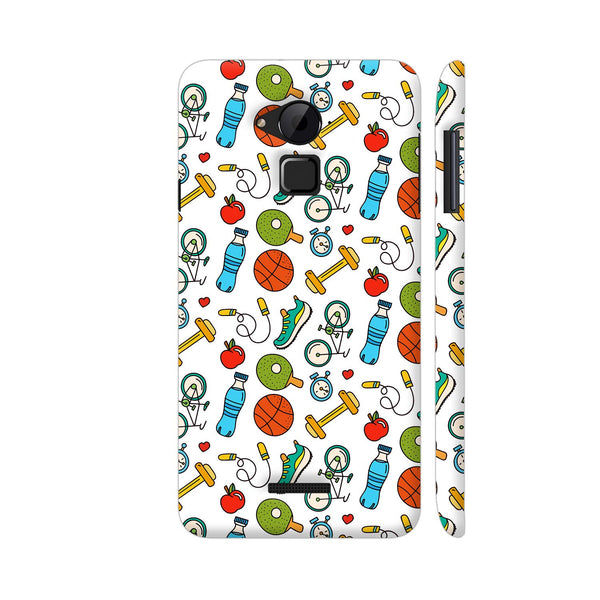 Fitness Gym Sports Freak On White Coolpad Note 3 / Note 3 Plus Case