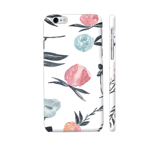 Flora In Watercolor iPhone 6 / 6s Cover | Artist: Adeela Abdul Razak