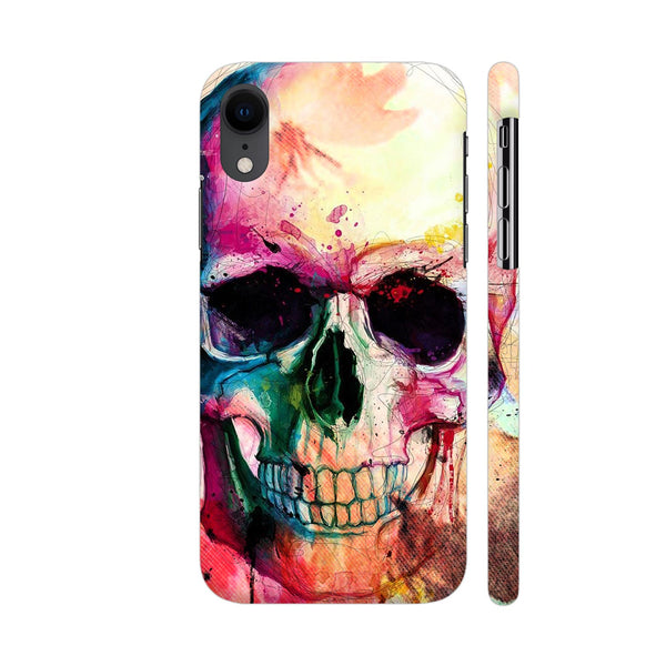 Floral Skull 4 iPhone XR Cover | Artist: VSeraphim