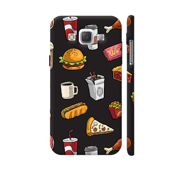 Foodies Delight On Black Samsung Galaxy E5 Case
