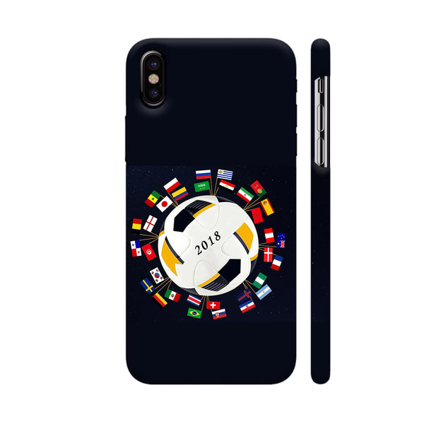 Football 2018 iPhone X Cover | Artist: Kiran Maurya
