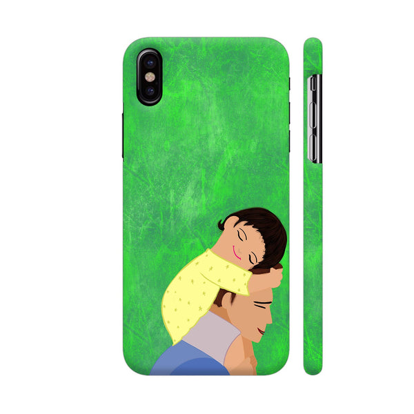 Forest Walk With Dad iPhone X Cover | Artist: Avani