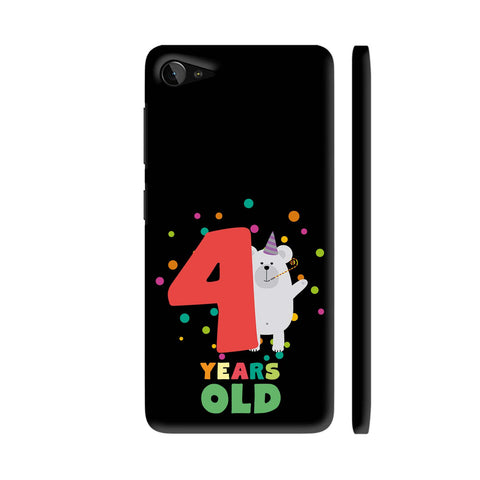 Four Years Fourth Birthday Party Grizzly Lenovo Z2 Plus Cover | Artist: Torben