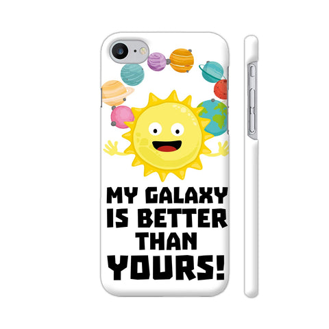 Galaxy Funny Saying 2 iPhone 7 Cover | Artist: Torben