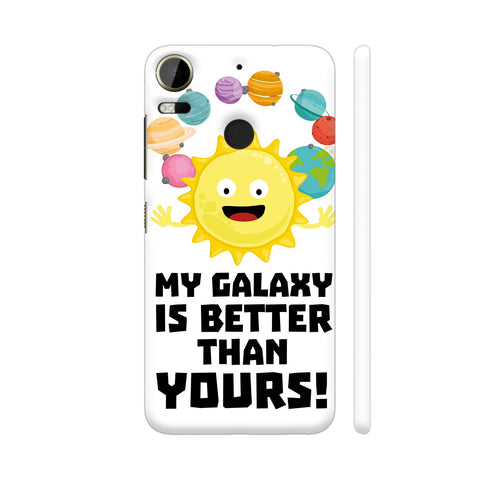 Galaxy Funny Saying 2 HTC Desire 10 Pro Cover | Artist: Torben