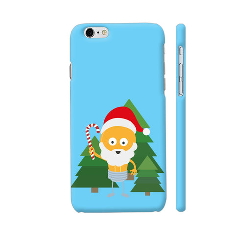 Genius Santa With Christmastree iPhone 6 Plus / 6s Plus Cover | Artist: Torben