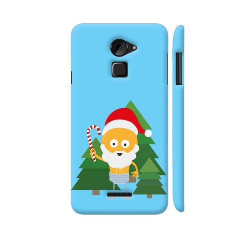 Genius Santa With Christmastree Coolpad Note 3 Lite Cover | Artist: Torben