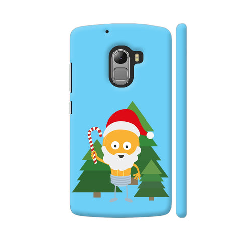 Genius Santa With Christmastree Lenovo K4 Note Cover | Artist: Torben