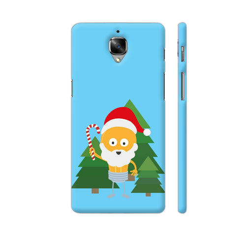 Genius Santa With Christmastree OnePlus 3 Cover | Artist: Torben