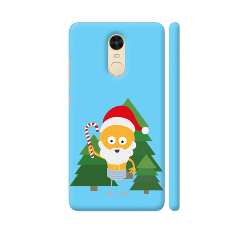 Genius Santa With Christmastree Redmi Note 4 Cover | Artist: Torben