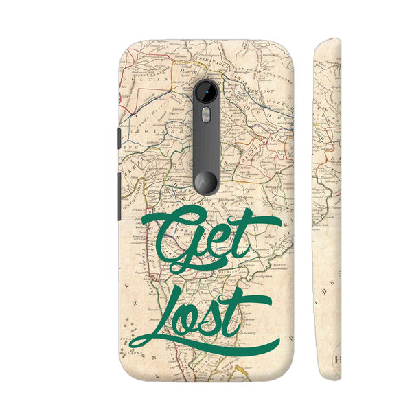 Get Lost Moto G Turbo Cover | Artist: Abhinav