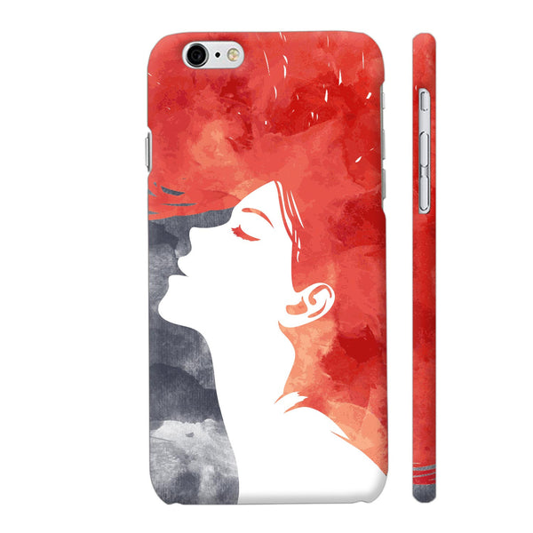 Girl Painted In Red iPhone 6 / 6s Cover | Artist: Abhinav