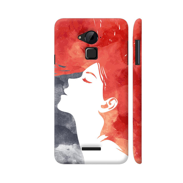 Girl Painted In Red Coolpad Note 3 / Note 3 Plus Case