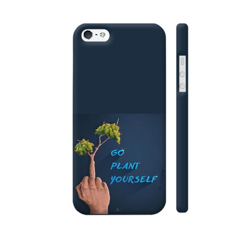 Go Plant Yourself Illustration iPhone 5 / 5s Cover | Artist: Ananthu Sankar