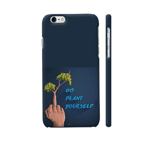Go Plant Yourself Illustration iPhone 6 / 6s Cover | Artist: Ananthu Sankar