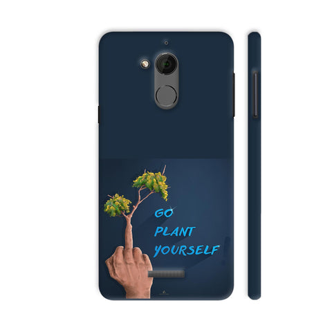 Go Plant Yourself Illustration Coolpad Note 5 Cover | Artist: Ananthu Sankar