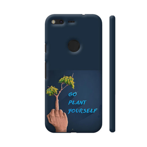 Go Plant Yourself Illustration Google Pixel Cover | Artist: Ananthu Sankar