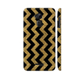 Golden Black Zigzag Coolpad Note 3 / Note 3 Plus Case