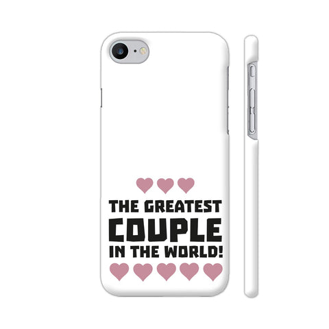 Greatest Couple Love Apple iPhone 7 Case