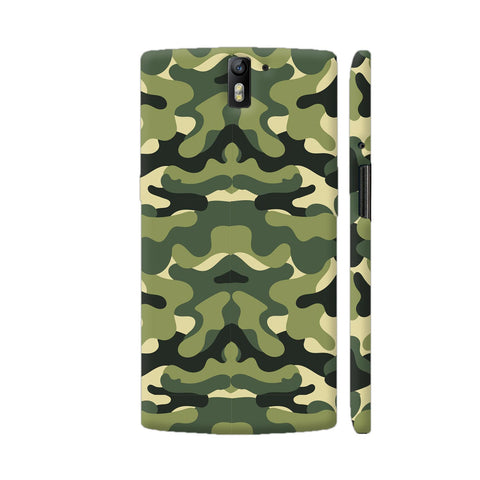 Green Camouflage Pattern OnePlus One Case