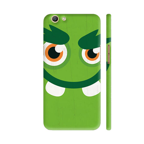 Green Monster Oppo F3 Cover | Artist: Abhinav