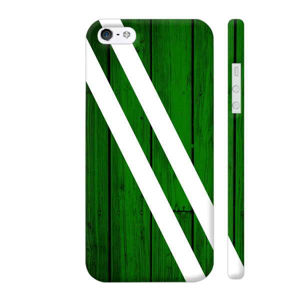 Green Wood iPhone 5 / 5s Cover | Artist: Abhinav