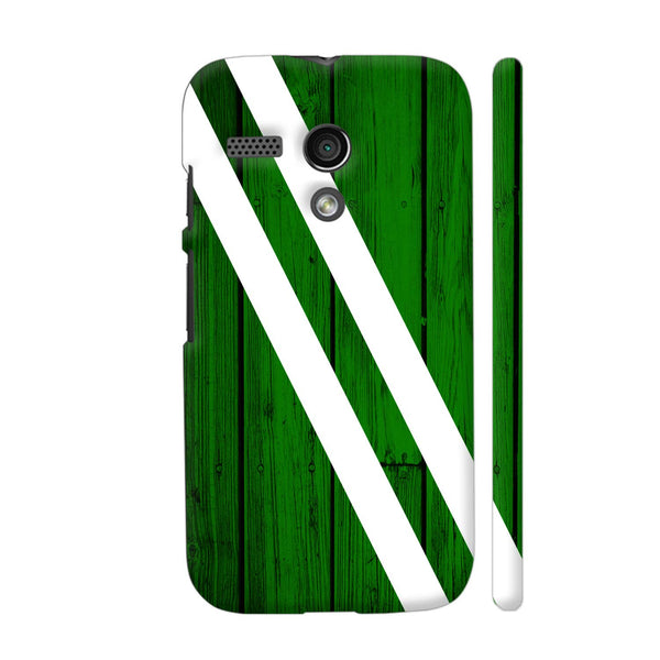 Green Wood Motorola Moto G1 Case