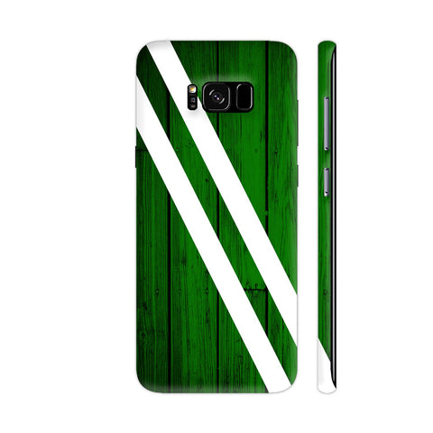 Green Wood Samsung Galaxy S8+ Cover | Artist: Abhinav