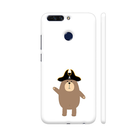 Grizzly Pirate Bear Honor 8 Pro Cover | Artist: Torben