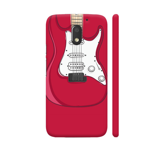 Guitar Red Motorola Moto E3 / Moto E3 Power Case