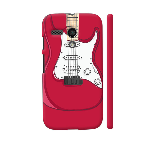 Guitar Red Motorola Moto G1 Case
