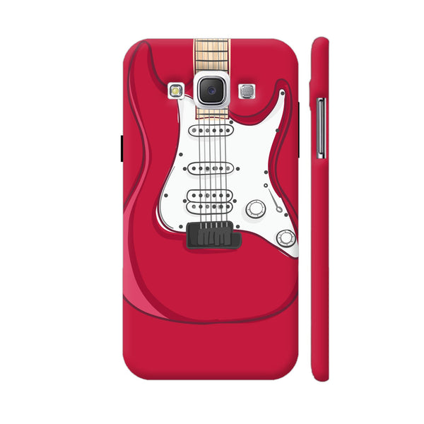 Guitar Red Samsung Galaxy E5 Case