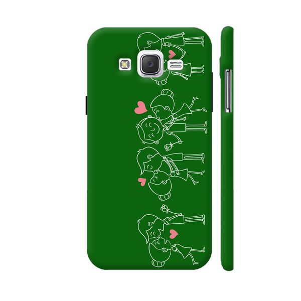Happy Couple On Green Samsung Galaxy J5 Case
