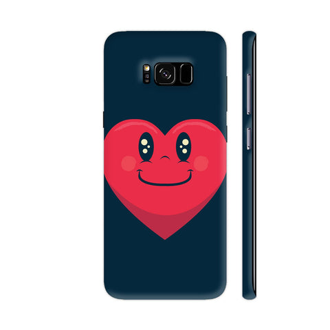 Happy Heart Samsung Galaxy S8 Cover | Artist: Abhinav
