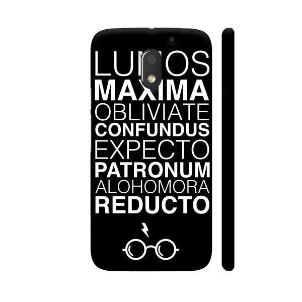 Harry Potter On Black Motorola Moto E3 / Moto E3 Power Case