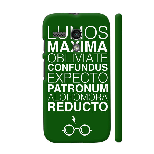 Harry Potter On Green Motorola Moto G1 Case