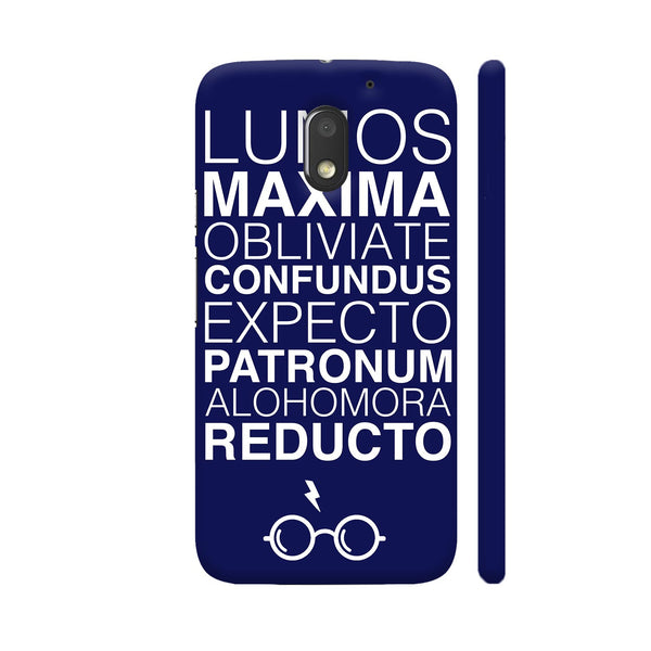 Harry Potter On Purple Motorola Moto E3 / Moto E3 Power Case