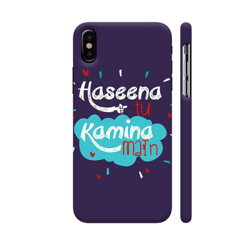 Haseena Tu Kamina Main iPhone X Cover | Artist: Disha