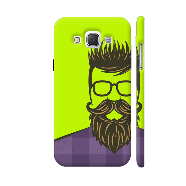 Hipster Green Samsung Galaxy E5 Case