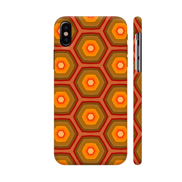 Honey Pattern iPhone X Cover | Artist: Malls