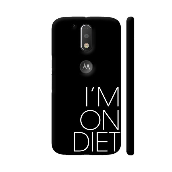 I Am On Diet Moto G4 / Moto G4 Plus Cover | Artist: Dolly P